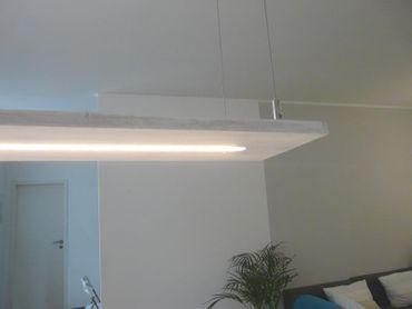 Shabby chic Holz Lampe 120 cm – Bild 3