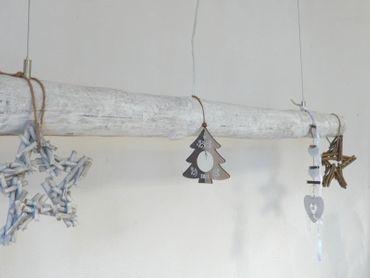 Shabby Chic Treibholzlampe Hängelampe 136cm – Bild 4