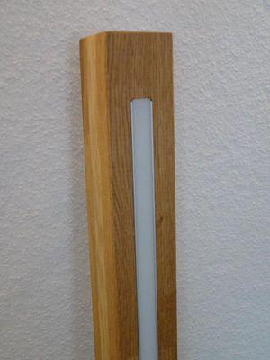 Hängelampe Eiche-hell, geölt, High-LEDs warmweiss, 80cm – Bild 5