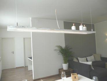 Shabby chic Holzlampe, 120cm – Bild 1