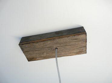 Deckenanschlussgehäuse Holz