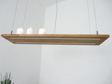Hängelampe Akazie Doppel-LED 80cm – Bild 6