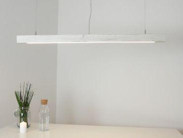 Esstischlampe Shabby chic Holzlampe, 80 cm – Bild 1
