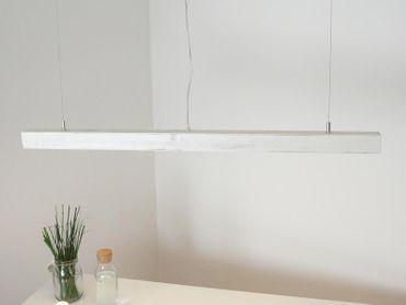 Esstischlampe Shabby chic Holzlampe, 80 cm – Bild 4