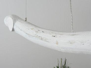 Shabby Chic Treibholzlampe Esstischlampe Hängelampe 152cm – Bild 5