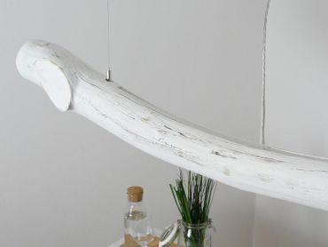 Shabby Chic Treibholzlampe Esstischlampe Hängelampe 152cm – Bild 8