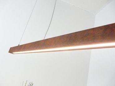 LED Hängelampe Rostoptik ca.120 cm – Bild 3