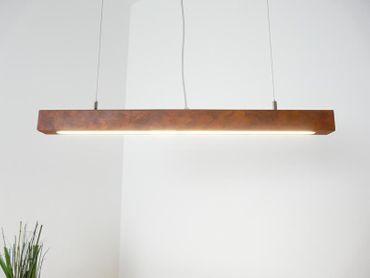 LED Hängelampe Rostoptik ca.80 cm – Bild 1
