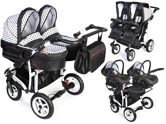 Zwillingskinderwagen Danny Sport