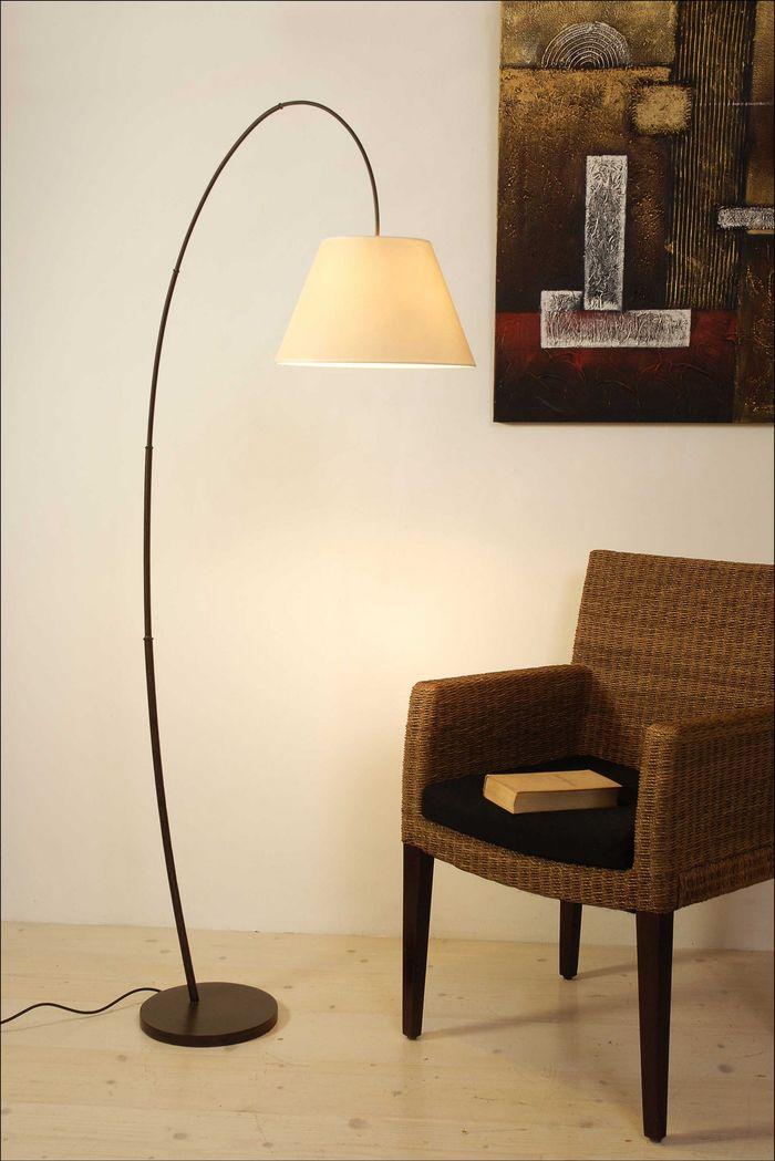 Stehlampe 1-flg. BAMBUS ARCO Holländer 300 K 11139