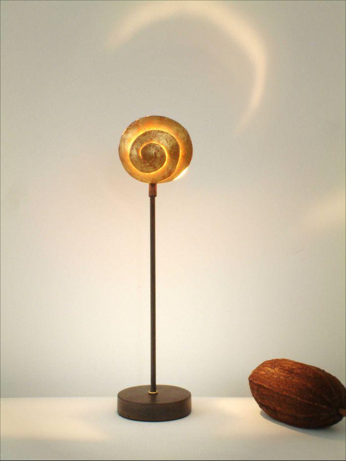 Tischlampe 1-flg. PICCOLA NAUTILO Holländer 300 K 12133