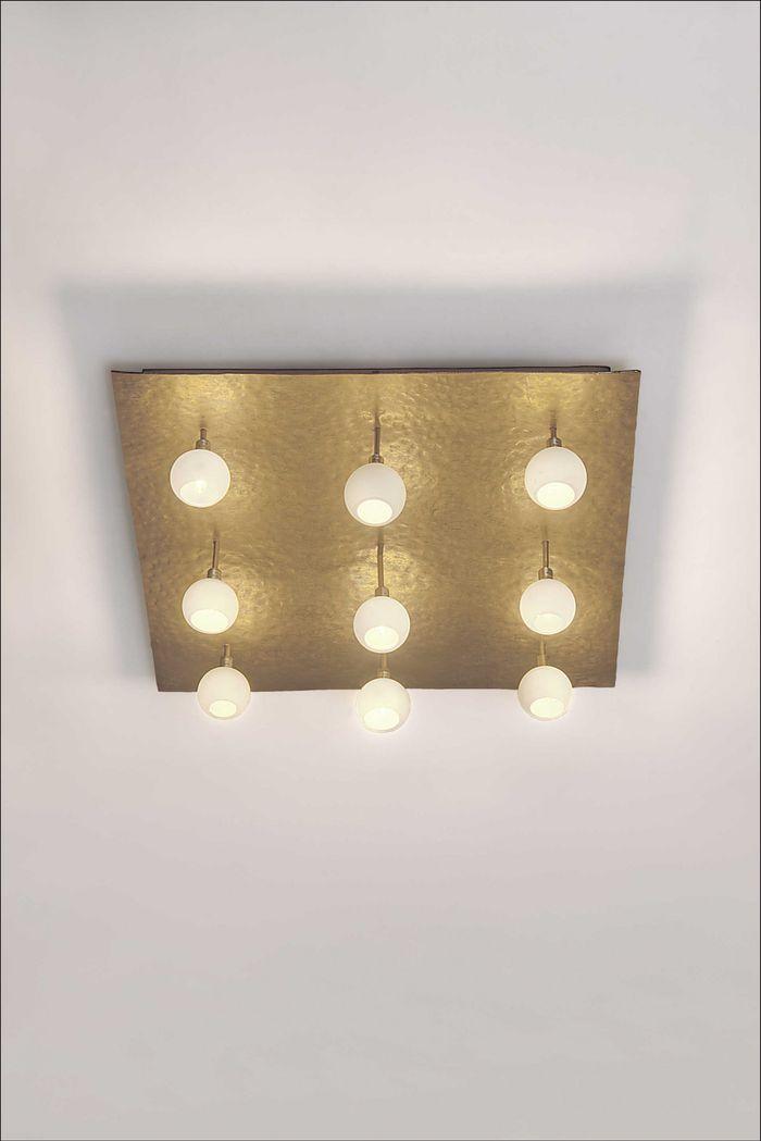 Deckenlampe 9-flg. LUCENTE Holländer 300 K 1661
