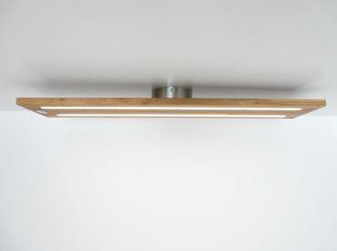 Deckenlampe Holz Eiche geölt, 120cm – Bild 1