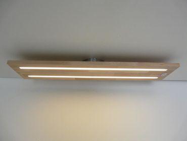Deckenlampe Holz Buche, 120cm – Bild 1
