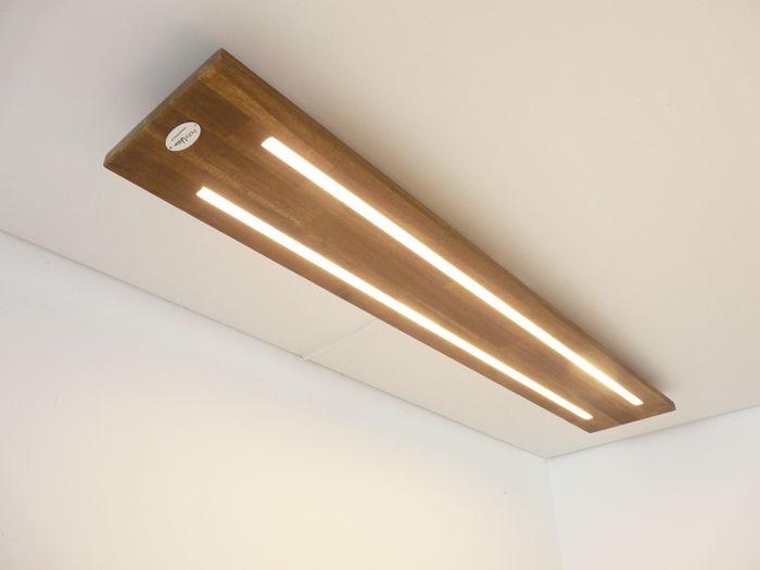 LED Deckenleuchte Holz