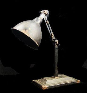Factory Tischlampe Vintage Shabby – Bild 1
