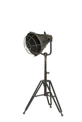 Stehlampe dreifuss 77-93cm DAMYAN alt bronze – Bild 3