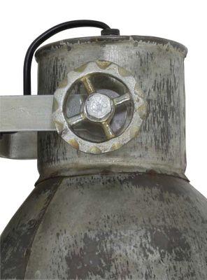 Wandlampe 21cm ELAY vintage Silber – Bild 3