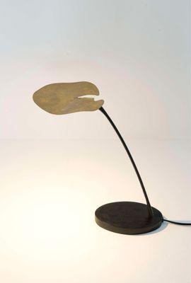Tischlampe 1-flg. CONTROVERSA, Eisen schwarzbraun-gold Holländer 300 K 12263
