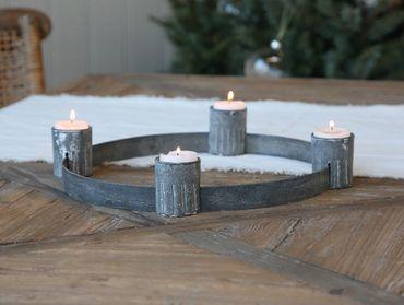 Advent Kerzenhalter für Teelichter  – Bild 1