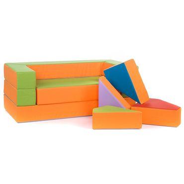 Kindersofa Spielsofa Spielzeug PUZZLE – Bild 6