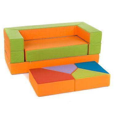 Kindersofa Spielsofa Spielzeug PUZZLE – Bild 10
