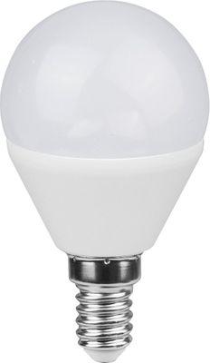 LED Leuchtmittel dimmbar E14 ILLU Alu Kunststoff opal, Globo 10561DC