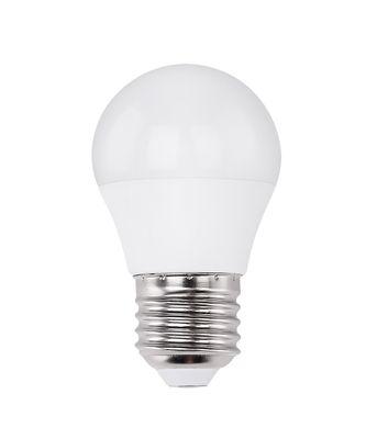 LED Leuchtmittel dimmbar E27 ILLU, Aluminium, Kunststoffkristalle opal, Globo 10562DC – Bild 1