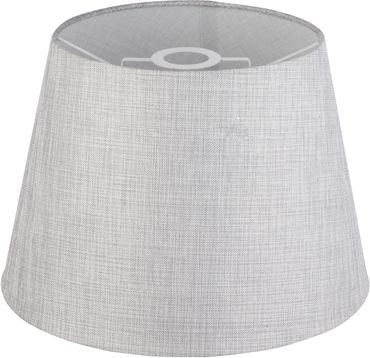 Lampenschirm PACO, Textil grau, Globo 15185S3