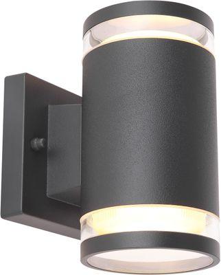 Aussenbeleuchtung ALCALA, Aluminium anthrazit, Glas klar, Globo 32063-2A