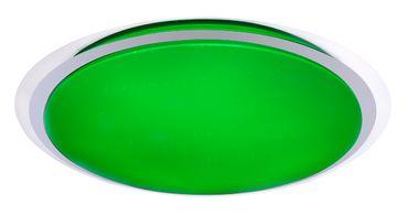 Deckenlampe, 1XLED, Metall weiss, Kunststoff opal, Globo 41310-80RGB – Bild 2