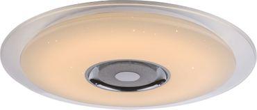 Deckenlampe TUNE, Metall weiss, Acryl opal, Globo 41341-36 – Bild 2