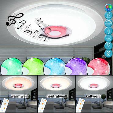 Deckenlampe TUNE, Metall weiss, Acryl opal, Globo 41341-36 – Bild 1