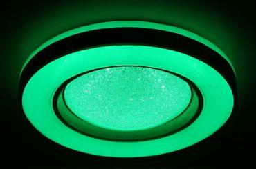 Deckenlampe COLLA, Metall weiss, Acryl opal, Globo 41742-48RGB – Bild 14
