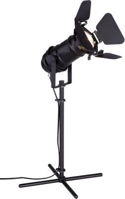 Tischlampe EGON, Metall schwarz, Globo 54650-1TB