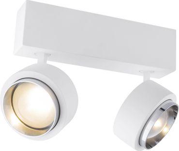 Deckenlampe CHRISTINE, Gips weiss, Globo 55010D2
