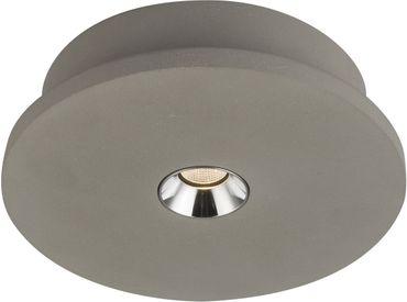 Deckenlampe TIMO, Beton grau, Globo 55011-1