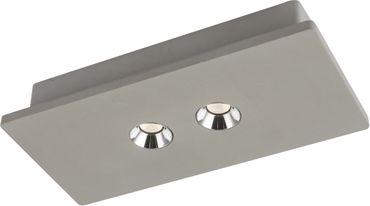 Deckenlampe TIMO, Beton grau, Globo 55011-2