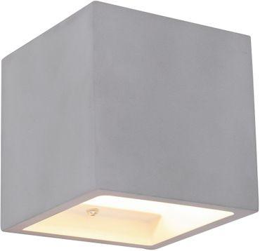 Wandlampe TIMO, Beton grau, Globo 55011W4