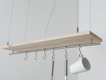 Stehlampe Holz Buche gewachst – Bild 10