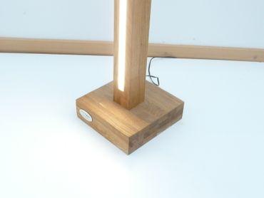 Tischlampe Holz Eiche 5.8cm/20cm – Bild 3