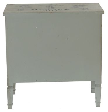 Kommode Sideboard Schrank Shabby-Look, Vintage, 80x79x40cm – Bild 5