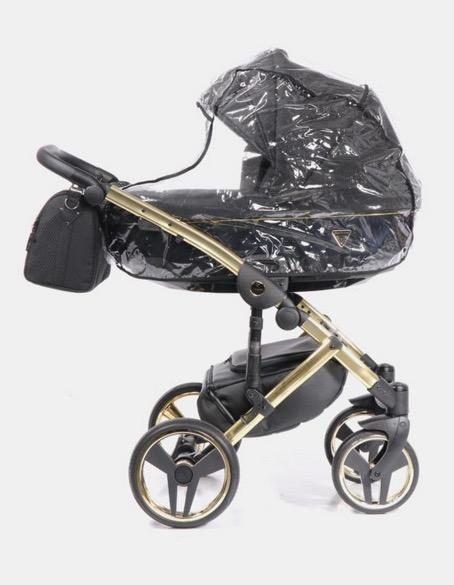 Kinderwagen Junama Onyx mit Regenschutz