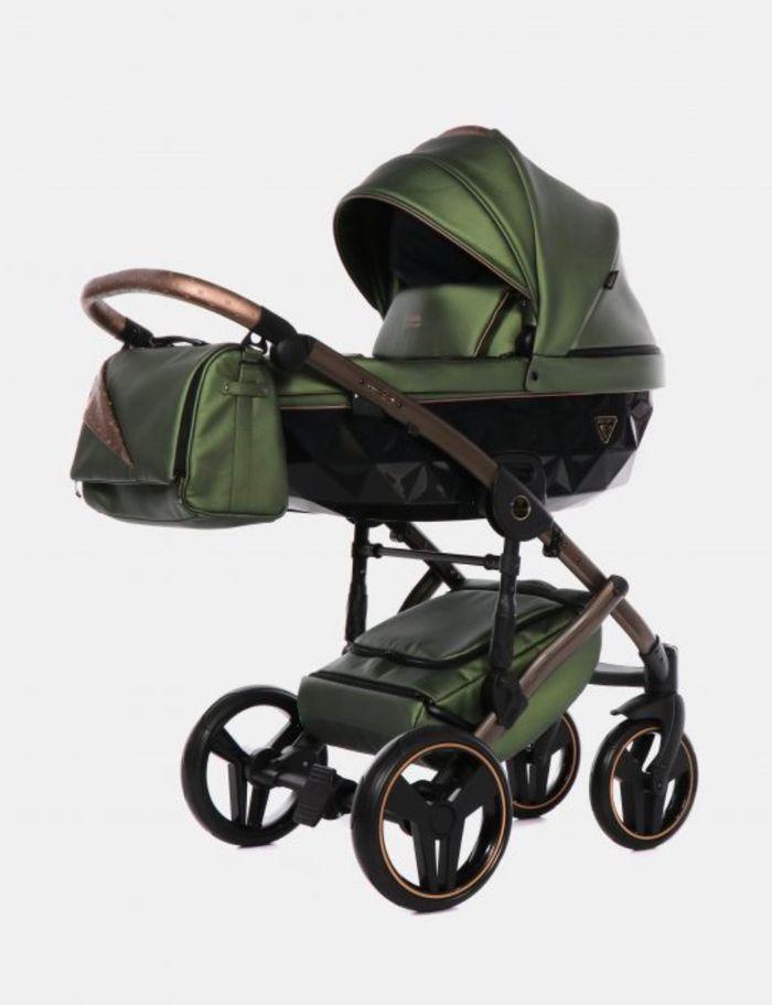 Kinderwagen Junama Fluo II olive
