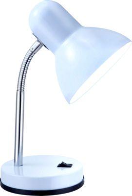 Tischlampe BASIC, Kunststoff weiss, Globo 2485 – Bild 2