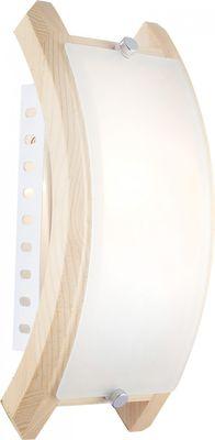 Wandlampe ADMIRAL, Holz, Glas satiniert, Globo 41308 – Bild 1