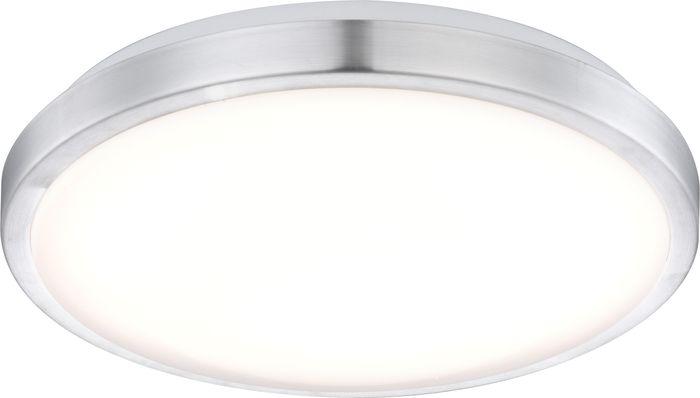 Deckenlampe ROBYN, Aluminium weiss, Acryl opal, Globo 41685