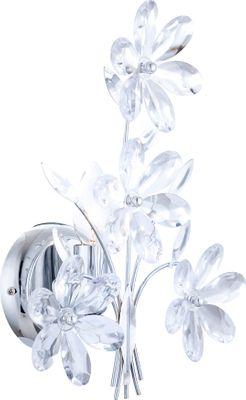 Wandlampe JULIANA, Chrom, Acrylkristalle klar, Globo 5137 – Bild 3