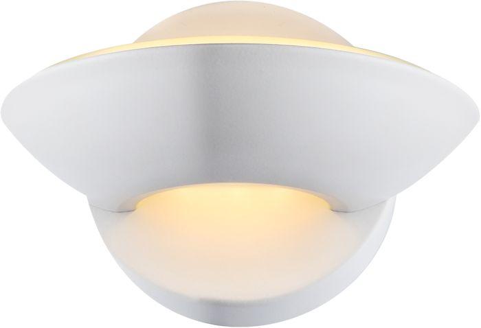 Wandlampe SAMMY, weiss, Glas, Globo 76003