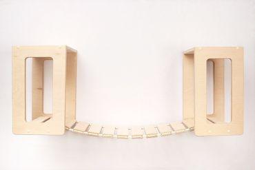 Decken-Set Hängebrücke premium, inkl. 2 Deckenhalter – Bild 1